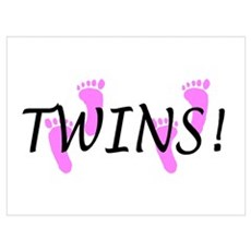 Twin Girls Poster