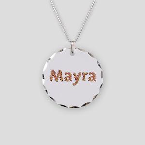 Mayra Fiesta Necklace Circle Charm