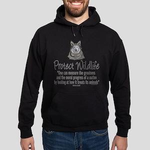 Protect Wolves Hoodie (dark)