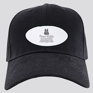 Protect Wolves Black Cap