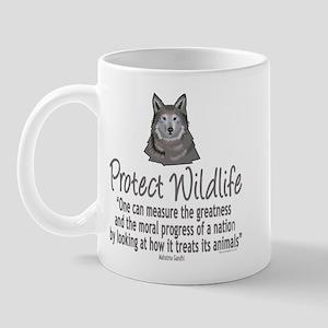 Protect Wolves Mug