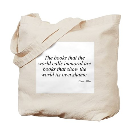 Oscar Wilde quote 92 Tote Bag