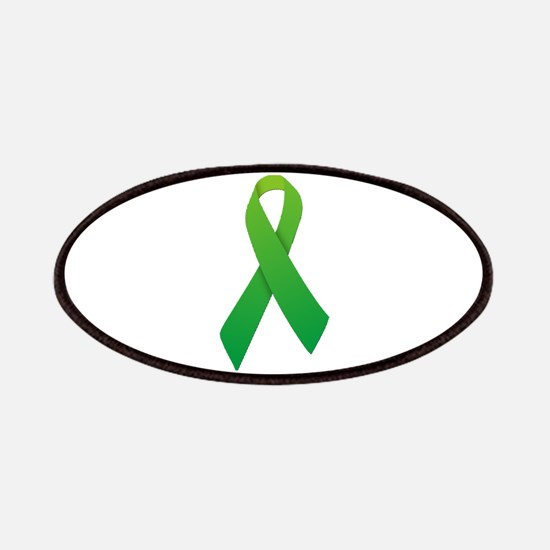 Green Ribbon Patches