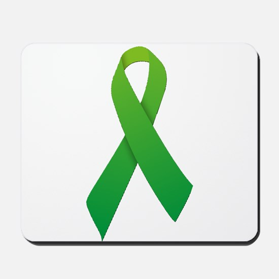 Green Ribbon Mousepad