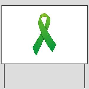 Green Ribbon Yard Sign