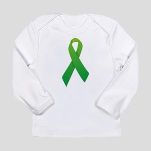 Green Ribbon Long Sleeve Infant T-Shirt