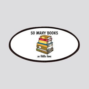 So Many Books, So Little Time Patches