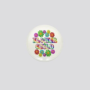 Flower Child Mini Button