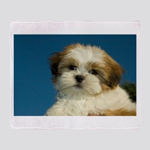 Shih Tzu puppy Throw Blanket
