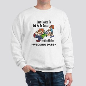 Bachelor Party Personalized (Date) Sweatshirt
