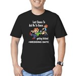 Bachelor Party Personalized (Date) Men's Fitted T-