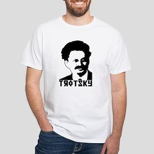 Trotsky White T-Shirt