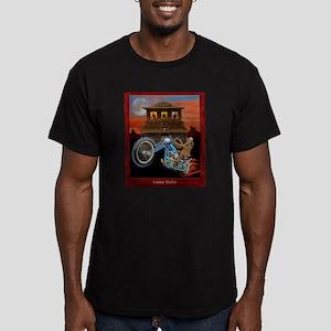 GRAVE RIDER Men's Fitted T-Shirt (dark)