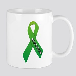 Green Ribbon 'Survivor' Mug