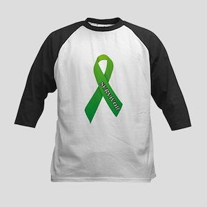 Green Ribbon 'Survivor' Kids Baseball Jersey