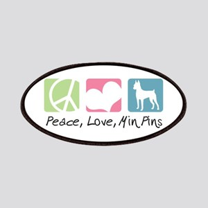 Peace, Love, Min Pins Patches