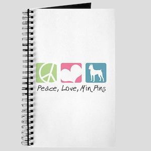 Peace, Love, Min Pins Journal
