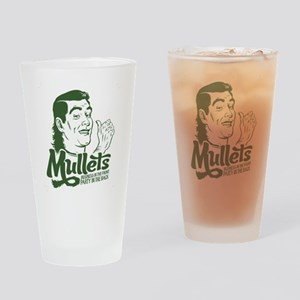 Mullets Drinking Glass