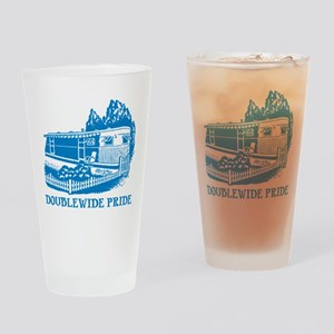 Doublewide Pride Drinking Glass