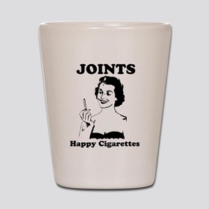 Joints; Happy Cigarettes Shot Glass
