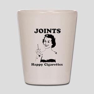 Joints; Happy Cigarettes Shot Glass