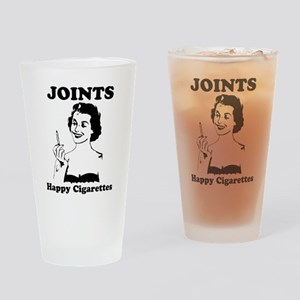 Joints; Happy Cigarettes Drinking Glass