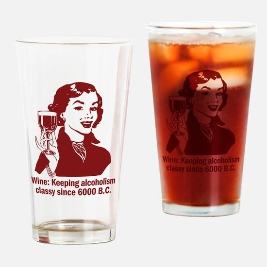 Wine: Keeping it Classy Drinking Glass