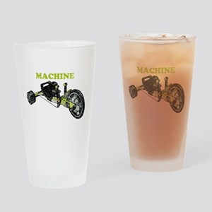 Green Machine Drinking Glass