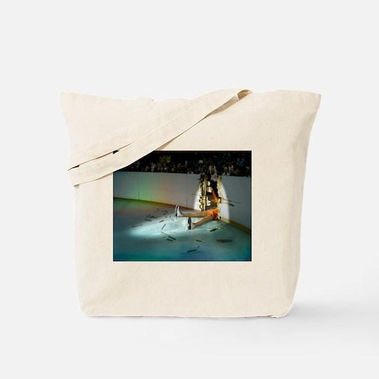 Unique Skating Tote Bag