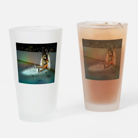 Unique Figure skater Drinking Glass