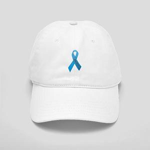 Light Blue Ribbon 'Survivor' Cap
