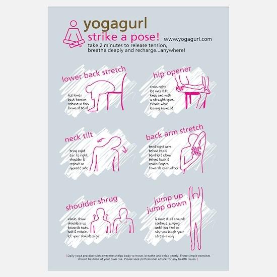 Yogagurl Strike a Pose
