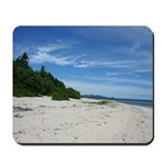 Fiji beach Mousepad