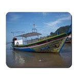 Thailand long tail boat Mousepad