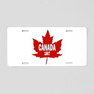 Canada 1867 Aluminum License Plate