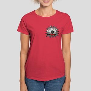 Personalized Bowling Women's Dark T-Shirt