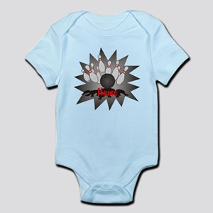 Personalized Bowling Infant Bodysuit