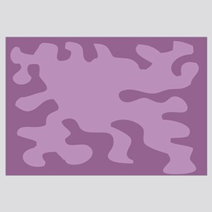 Purple Flower Power Wall Art Psychedelic Art