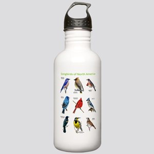 Songbirds of North America Stainless Water Bottle