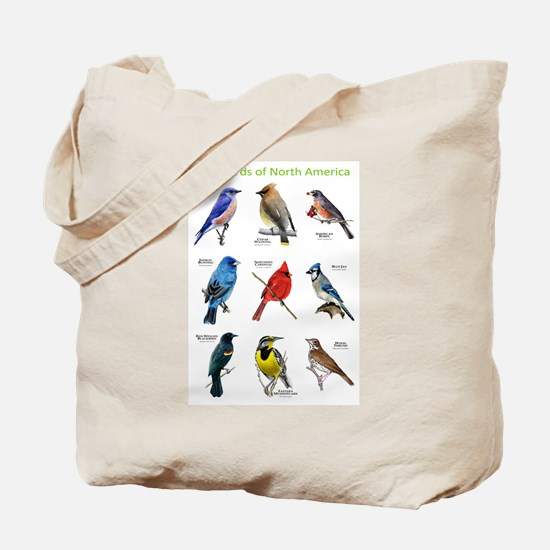 Songbirds of North America Tote Bag