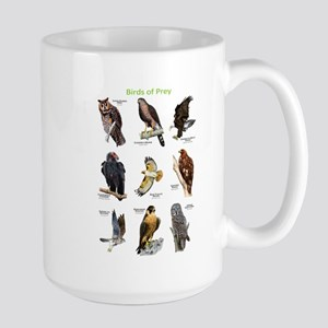 Northern American Birds of Prey Large Mug
