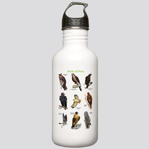 Northern American Birds of Prey Stainless Water Bo