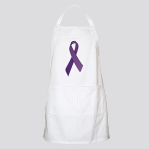 Purple Ribbons Apron