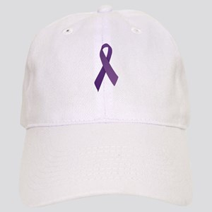 Purple Ribbons Cap
