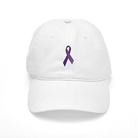 Purple Ribbons Cap
