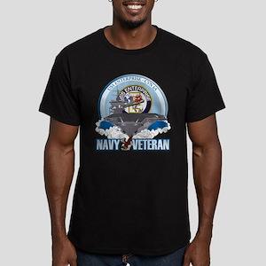 CVN-65 USS Enterprise Men's Fitted T-Shirt (dark)