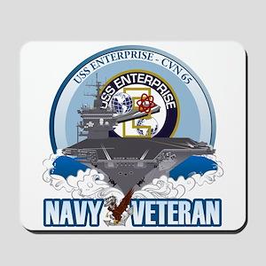 CVN-65 USS Enterprise Mousepad