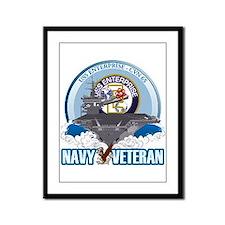 CVN-65 USS Enterprise Framed Panel Print