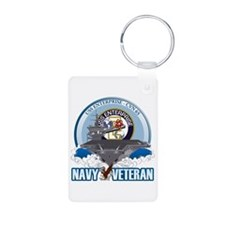 CVN-65 USS Enterprise Aluminum Photo Keychain