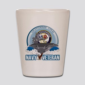CVN-65 USS Enterprise Shot Glass